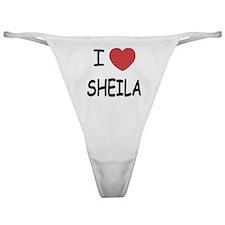 I heart SHEILA Classic Thong