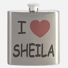 I heart SHEILA Flask