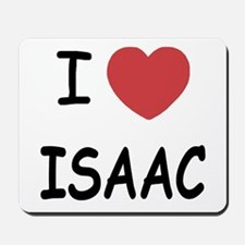 I heart ISAAC Mousepad