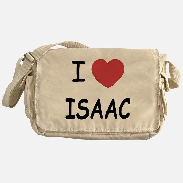 I heart ISAAC Messenger Bag