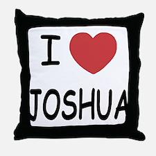 I heart JOSHUA Throw Pillow