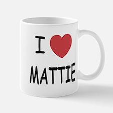 I heart MATTIE Mug
