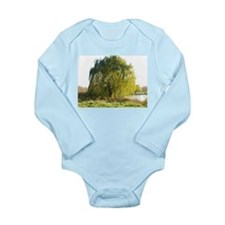 Blowing in the wind Long Sleeve Infant Bodysuit