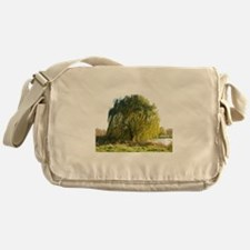 Blowing in the wind Messenger Bag