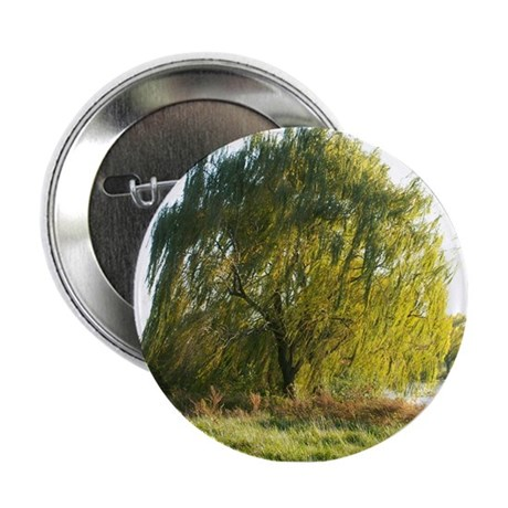 """Blowing in the wind 2.25"""" Button"""