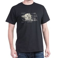 Turntable Diagram T-Shirt