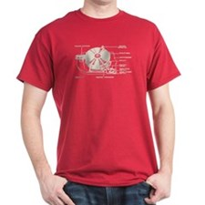 Turntable Diagram T-Shirt