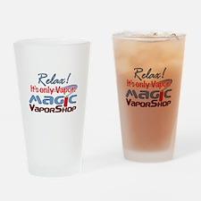 MVS Logo Drinking Glass