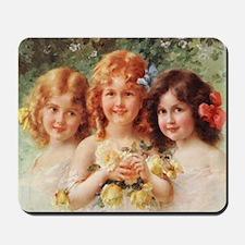 Victorian Angels Mousepad