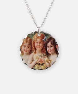 Victorian Angels Necklace