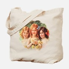 Victorian Angels Tote Bag