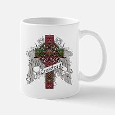 Crawford Tartan Cross Mug