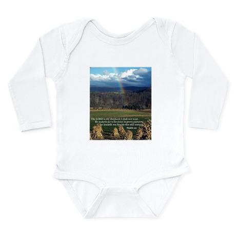 Sunny Day Rainbow Long Sleeve Infant Bodysuit