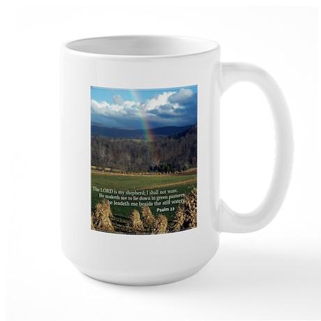 Sunny Day Rainbow Large Mug