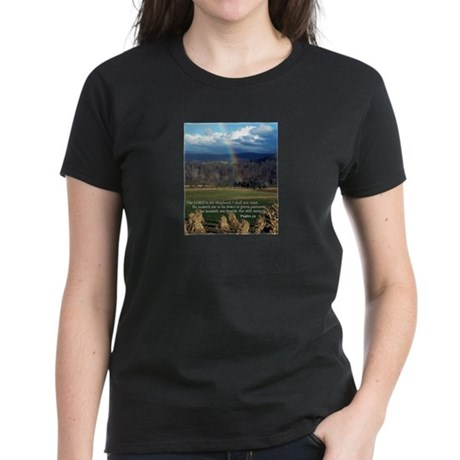 Sunny Day Rainbow Women's Dark T-Shirt