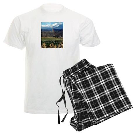 Sunny Day Rainbow Men's Light Pajamas