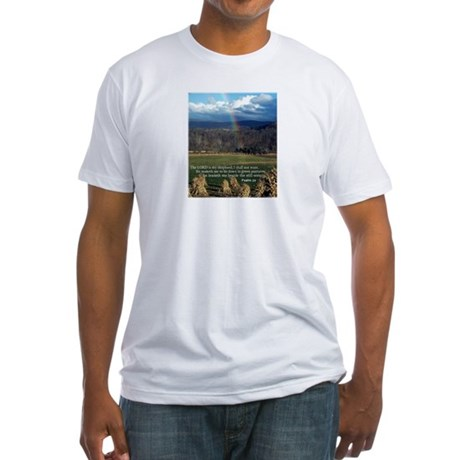 Sunny Day Rainbow Fitted T-Shirt