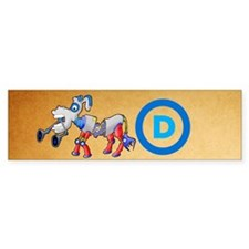 DemoDonkey Bumper Sticker