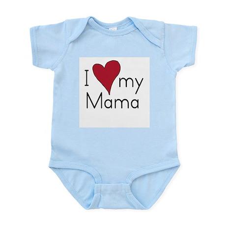 I Love my Mama Infant Creeper