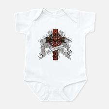 Cunningham Tartan Cross Infant Bodysuit