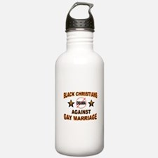 BLACK CHRISTIANS Water Bottle
