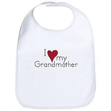 I Love my Grandmother Bib