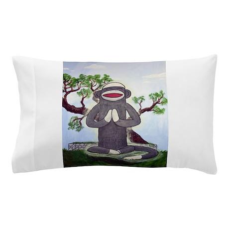 Sock Monkey Nirvana Pillow Case