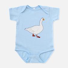 White Goose Infant Bodysuit