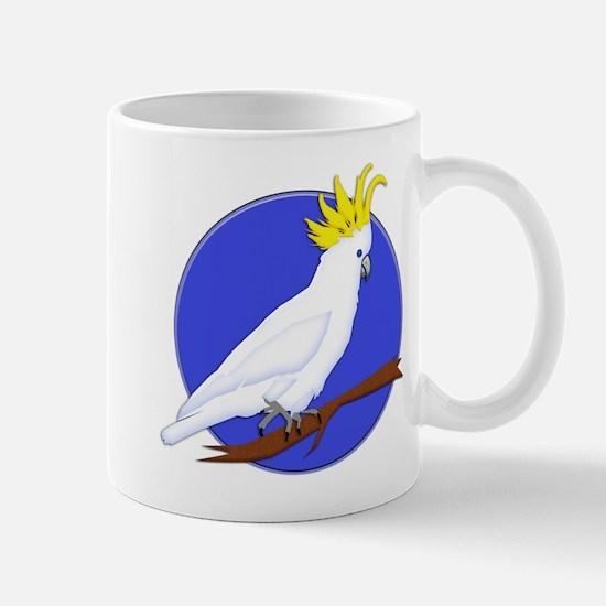 Yellow Crested Tropical Cockatoo Mug