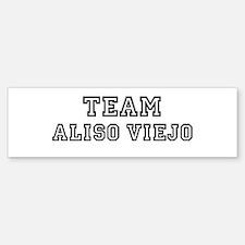 Team Aliso Viejo Bumper Bumper Bumper Sticker
