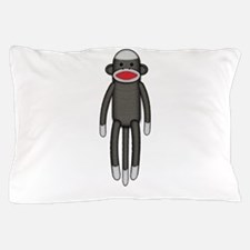 Plain Sock Monkey Pillow Case