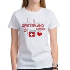 I Love Switzerland (For Dark Colored Products) T-S