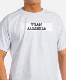 Team Alhambra Ash Grey T-Shirt