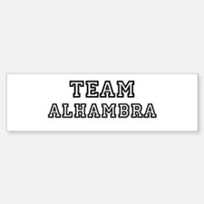Team Alhambra Bumper Bumper Bumper Sticker