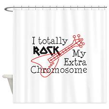 Rockin Chromosome Shower Curtain