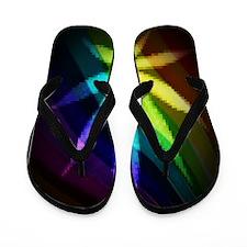 Rainbow Weed Flip Flops