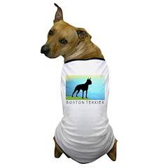 boston terrier bright sky Dog T-Shirt