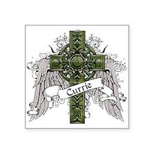 "Currie Tartan Cross Square Sticker 3"" x 3"""