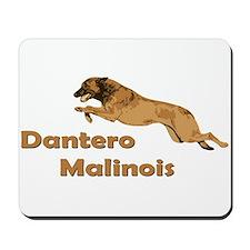 Dantero Malinois Logo Mousepad