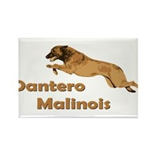 Dantero Malinois Logo Rectangle Magnet
