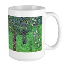 Klimt - Rosebushes Coffee Mug