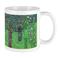 Klimt - Rosebushes Mug