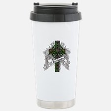 Davidson Tartan Cross Stainless Steel Travel Mug