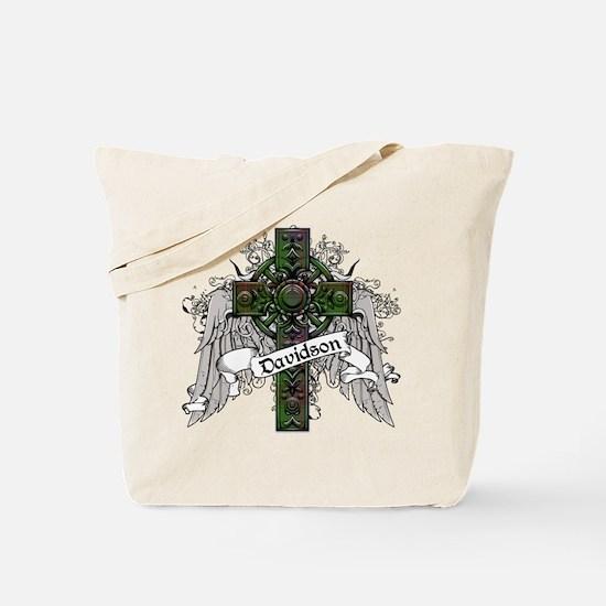 Davidson Tartan Cross Tote Bag
