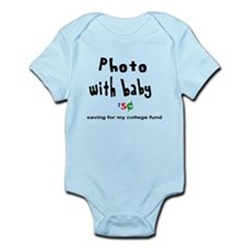 Photo with Baby Shirt Infant Bodysuit