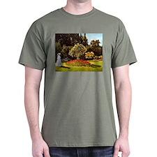 Claude Monet Woman In The Garden T-Shirt