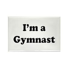Im a Gymnast Rectangle Magnet