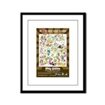 2012 Slug Queen Anniversary Poster Framed Panel Pr
