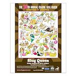 2012 Slug Queen Anniversary Poster Small Poster