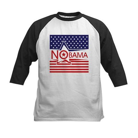 Just Say Nobama! Kids Baseball Jersey